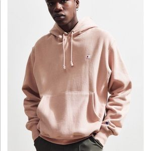UO champion rose pink reverse weave hoodie small